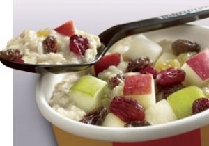 mcdonalds fruit n maple oatmeal