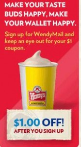 wendys coupon