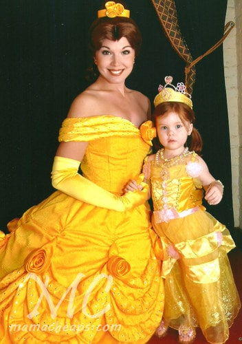 Lily and Belle at Epcot
