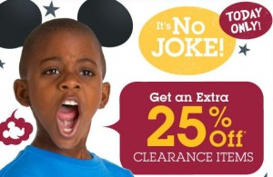 disney april fools discount