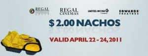 regal 2 dollar nachos