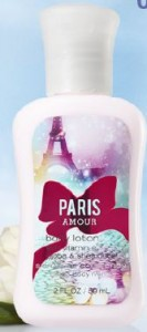 paris amour lotion bath and body works