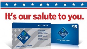 sams club military gift card