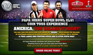 Papa John's apologizes for the inconvenience. Our goal is to provide the best quality customer experience. We will be back online shortly! Click the button above to find your restaurants phone number to place your order now. Thanks again for choosing Papa John's Pizza!
