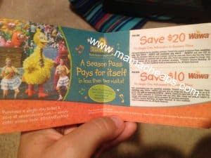 Sesame place coupons
