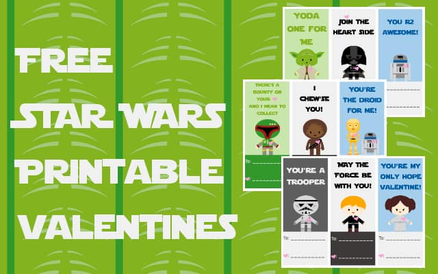 Star Wars Printable Valentine S Cards Pictures to Pin on Pinterest