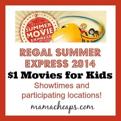 Printable coupons for regal movie theaters
