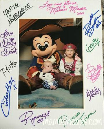 How To Get A Bunch Of Character Autographs On A Disney