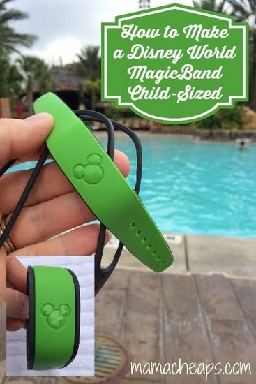 disney world green magic band how to make kid sized title