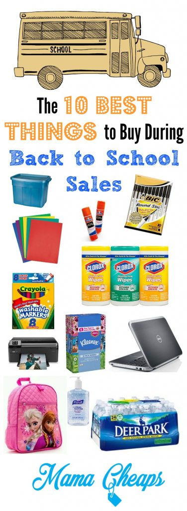 Select durable pieces that stand up to work and play and will last for the entire school year. How can I avoid the back-to-school shopping crowds? Beat the rush in the weeks before school begins by shopping as early as possible. Stores begin stocking up on low-priced school supplies toward the end of summer.