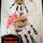 daddy kid pirate handprint craft