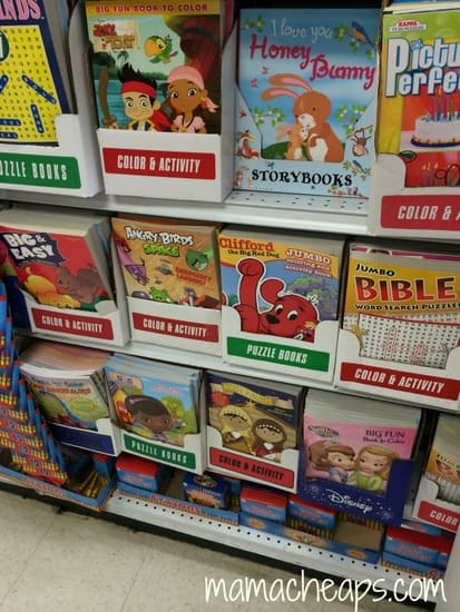2 kits sticker books crayons coloring books photo albums and frames - Dollar Tree Coloring Books