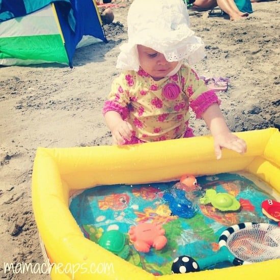 Top 15 must pack items for taking a baby to the beach for Pool design must haves