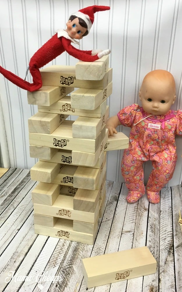 elf-on-the-shelf-plays-jenga
