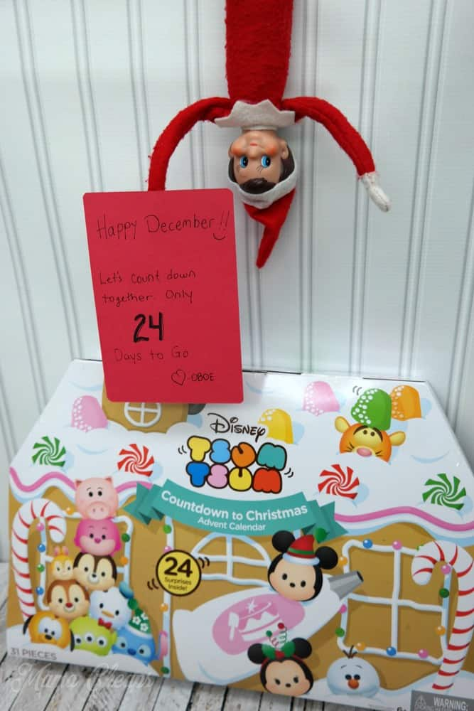 Elf with Tsum Tsum Advent Calendar