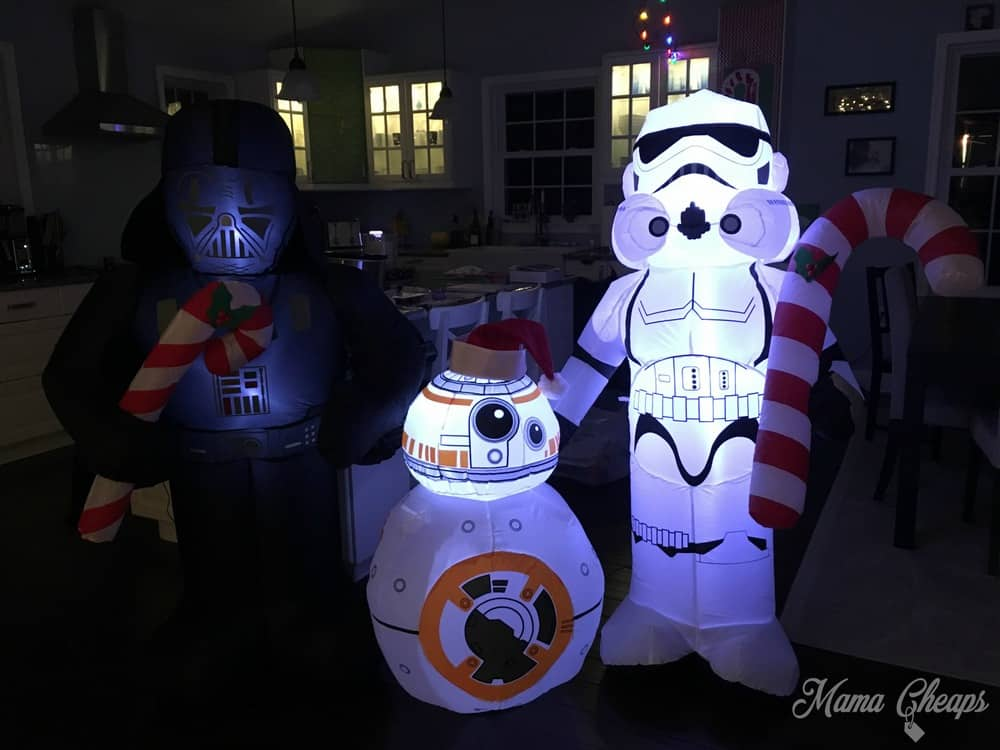 Star Wars Christmas Inflatables