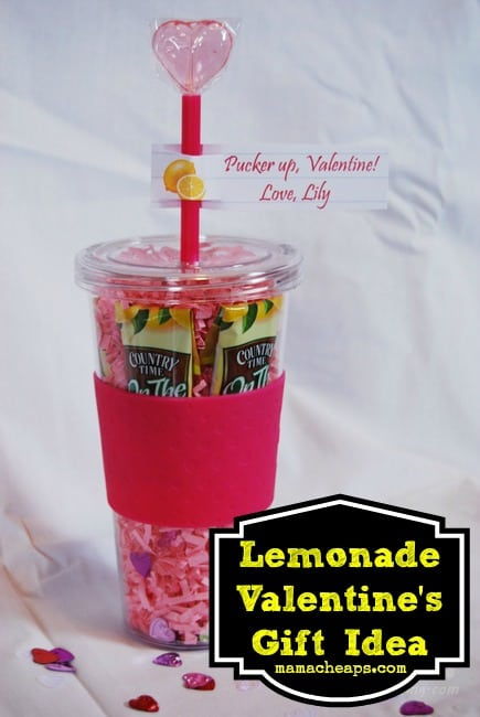 lemonade valentine drink teacher gift