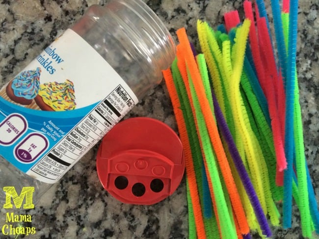 car road trip boredom buster toddler pipe cleaners