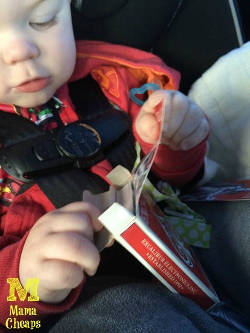 car road trip boredom buster toddler playing cards