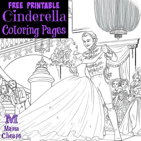 Cinderella Coloring Pages 2015 Coloring Pages
