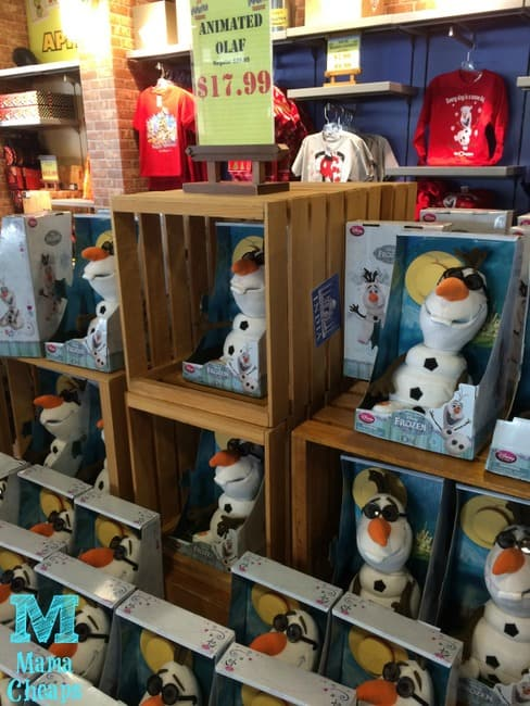 disney outlet store orlando frozen olaf