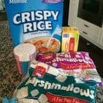 crispy rice treats aldi ingredients