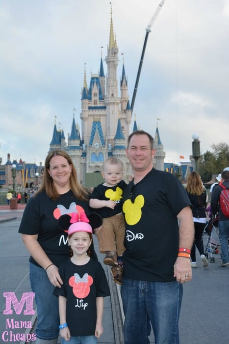disney world matching shirts mickey
