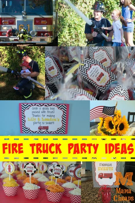 Fire Truck Party Ideas Mama Cheaps