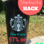 starbucks iced coffee hack