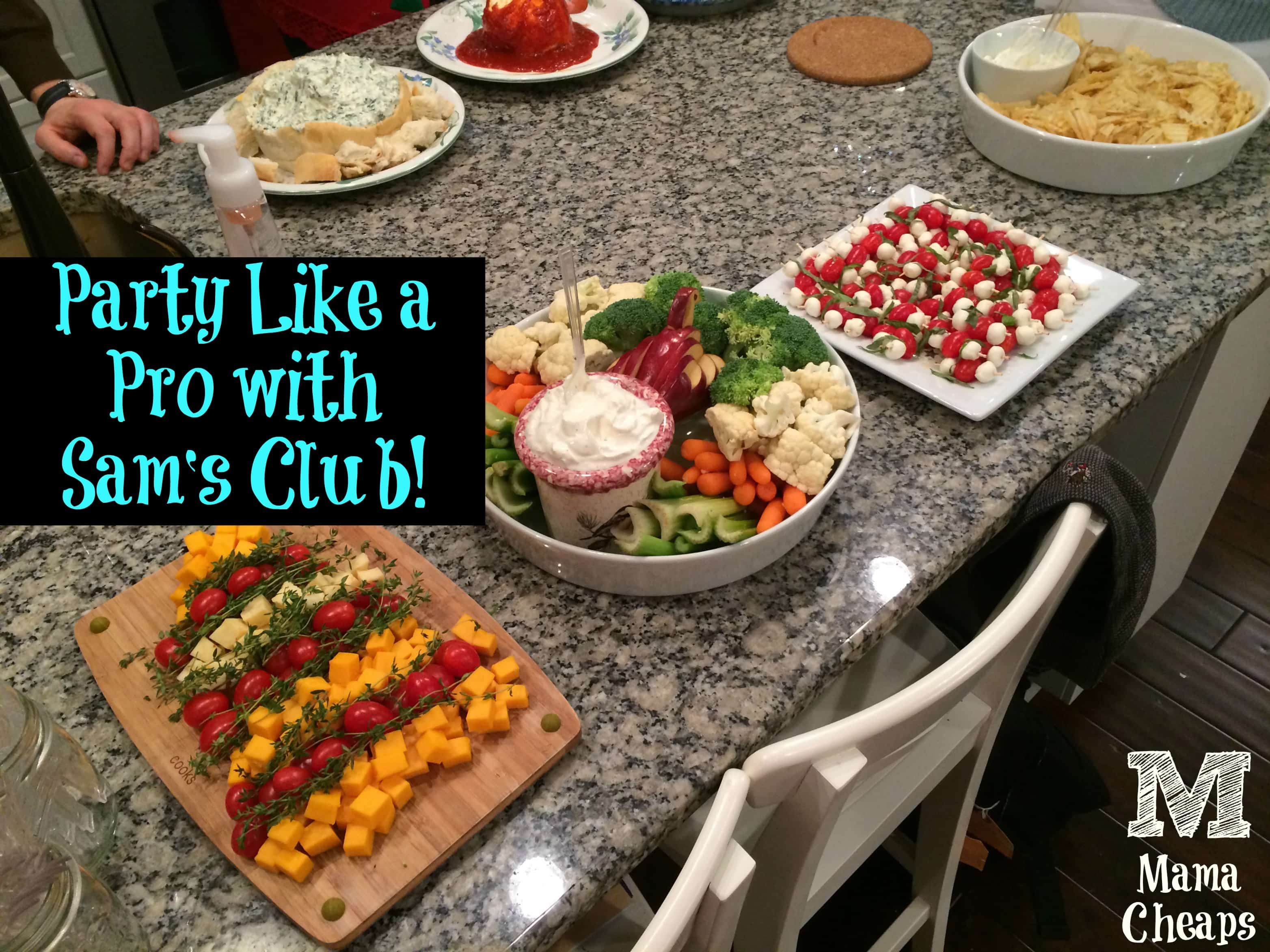Party Like a Pro with Sam's Club