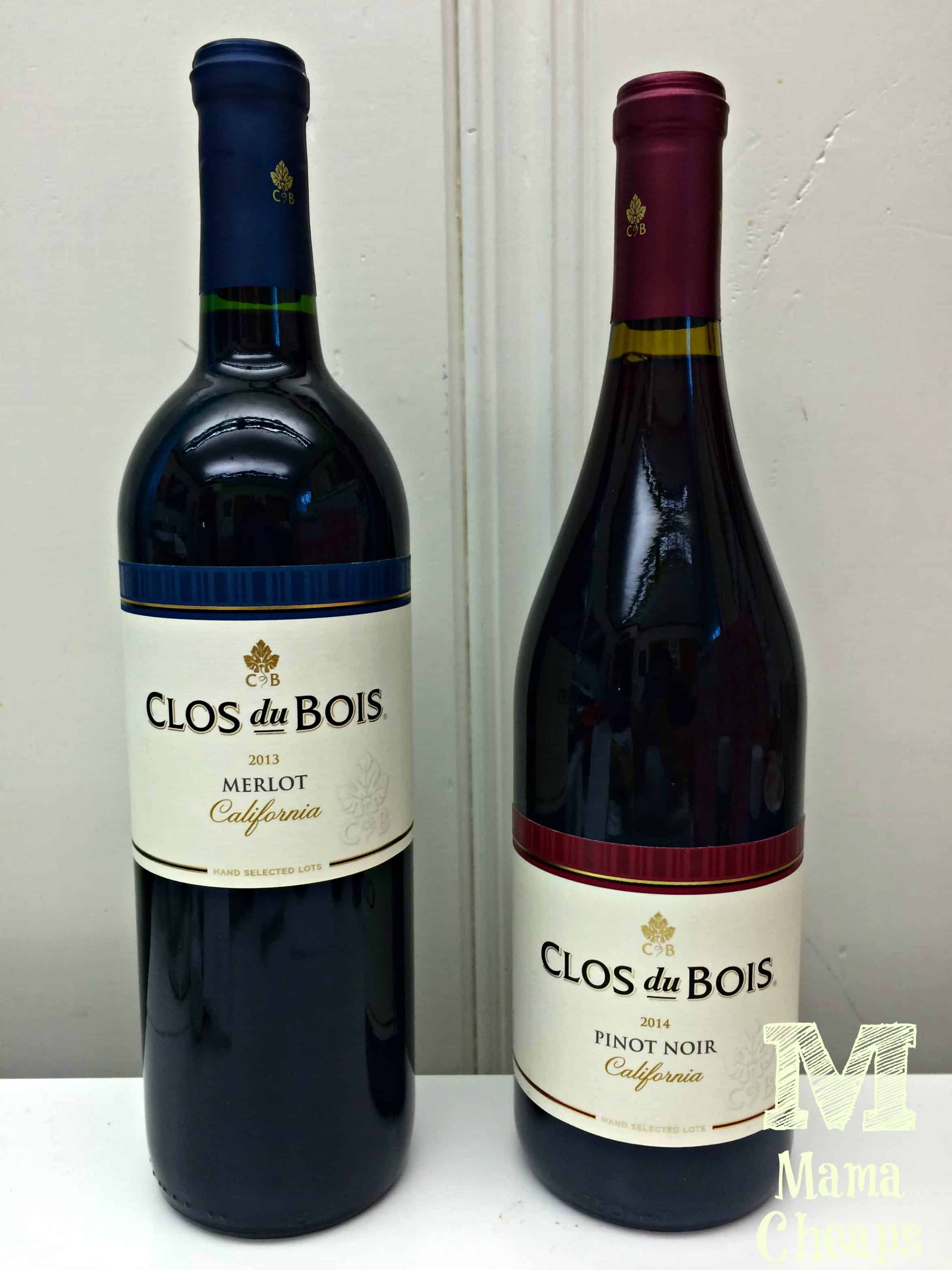 A perfect pair brookside chocolate and clos du bois wines for Clos du bois