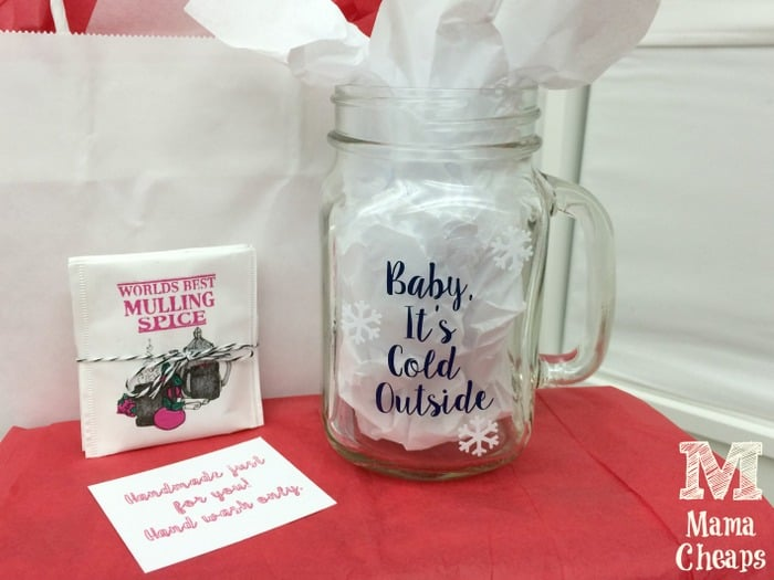 Baby its Cold Outside DIY Mulled Cider Mug Gift Idea