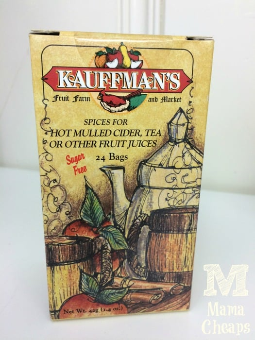 kauffman's fruit farm mulling spices