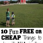 10 Fun FREE or CHEAP Things to do with Kids in the Outer Banks, NC