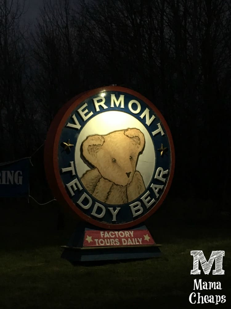 Vermont Teddy Bear Factory Tour Review Mama Cheapsmama