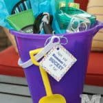 Beach Bucket Teacher Gift