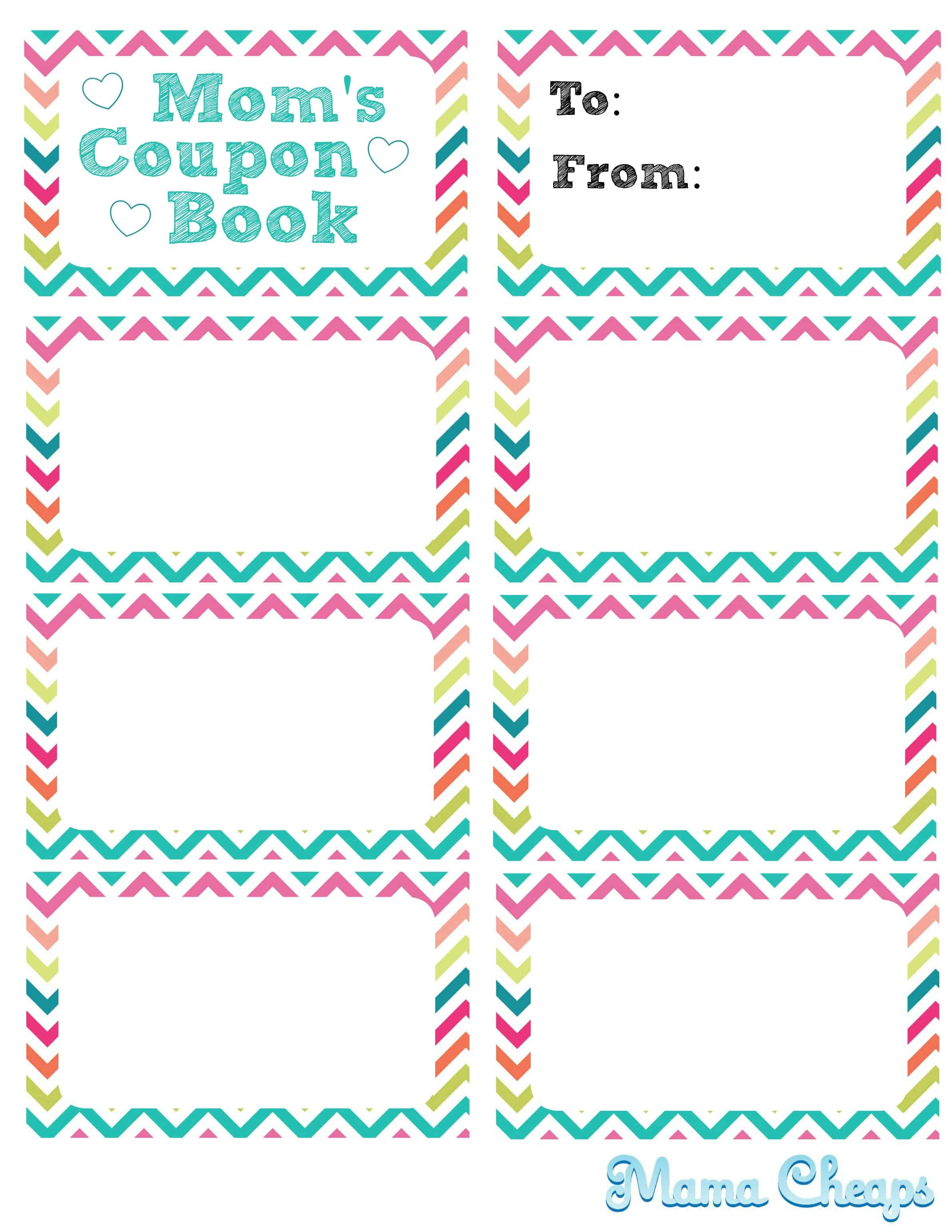 printable coupon book for mom mama cheapsmama cheaps this page for right