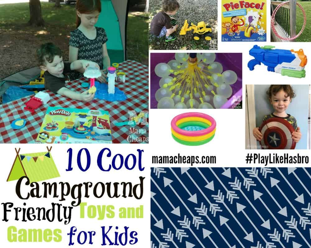 10 Cool Campground Friendly Toys and Games