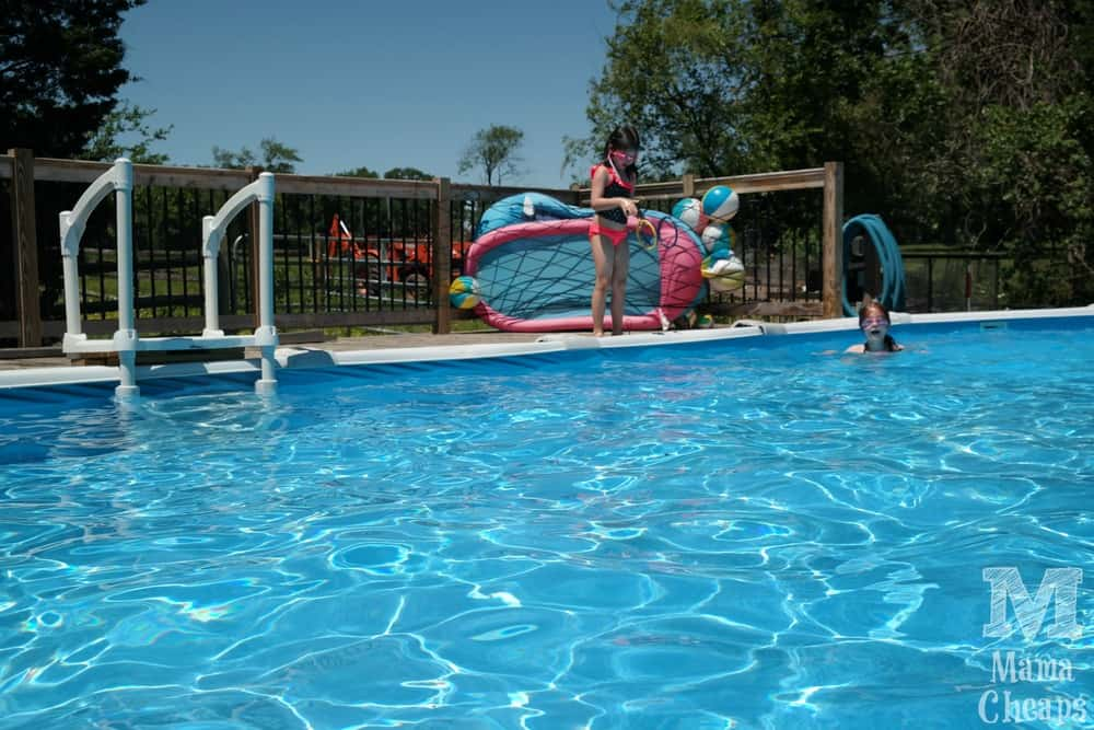 Party planning with bj 39 s wholesale how we hosted father for Swimming pool poker