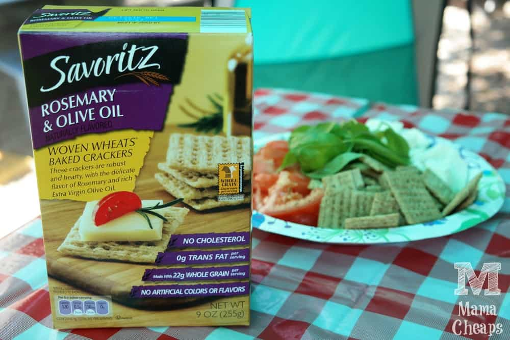 Rosemary & Olive Oil Woven Wheats Baked Crackers