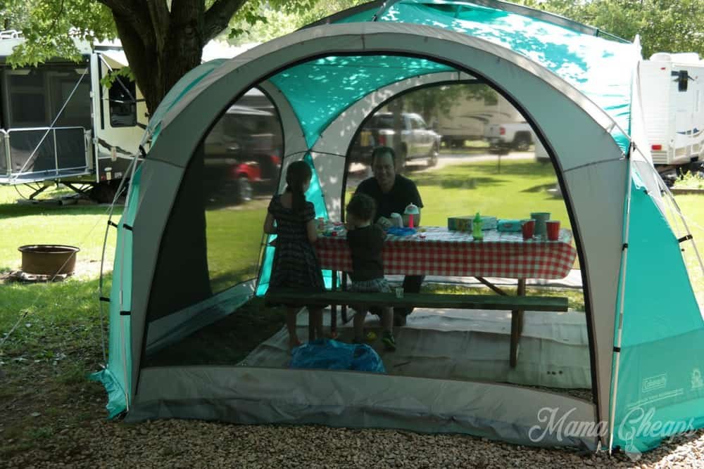 Coleman Screened Shelter Tent