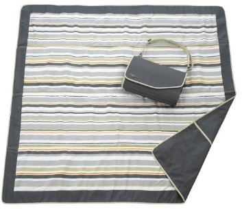 JJ Cole Outdoor Blanket,Gray Green, 5' x 5'