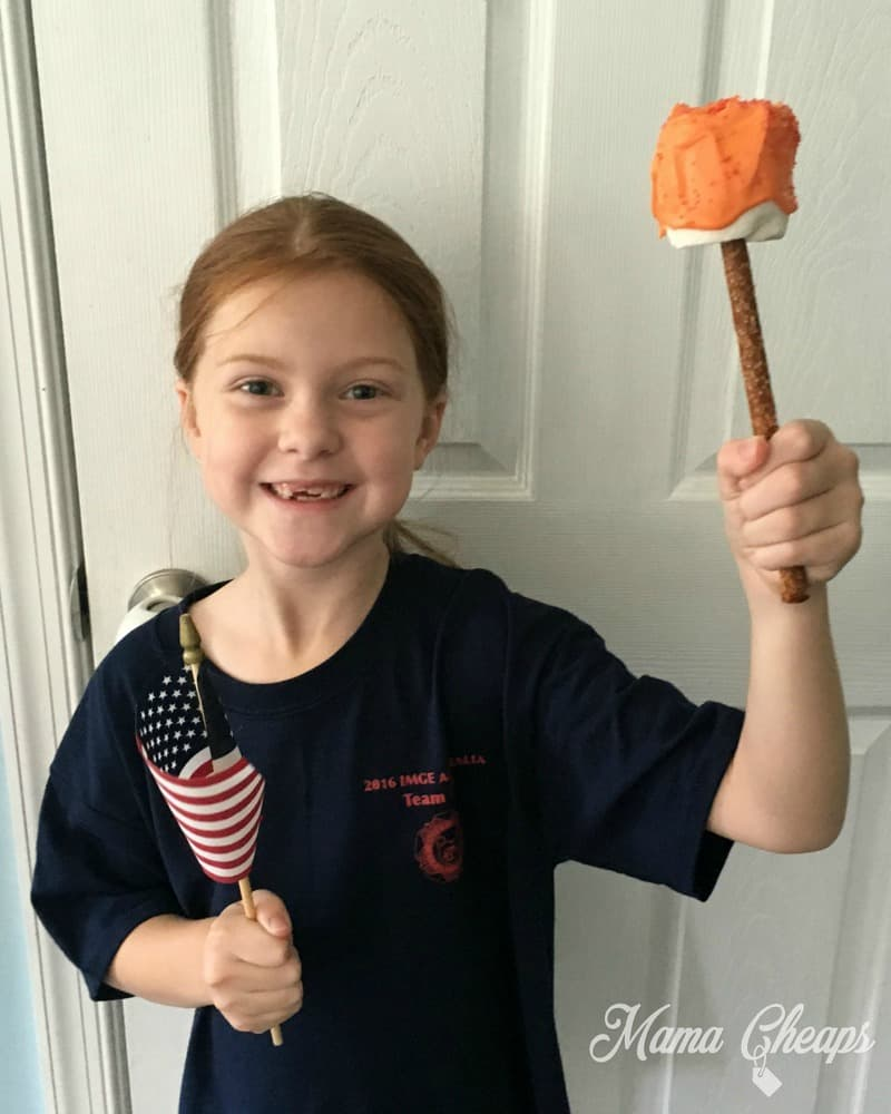 Lily with Candy Torch