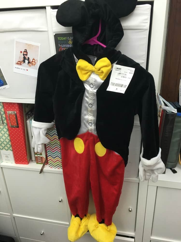 Mickeky Mouse Costume