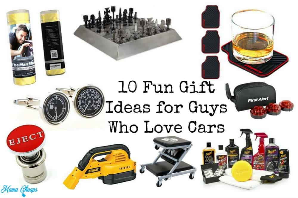 10 fun gift ideas for guys who love cars mama cheaps. Black Bedroom Furniture Sets. Home Design Ideas