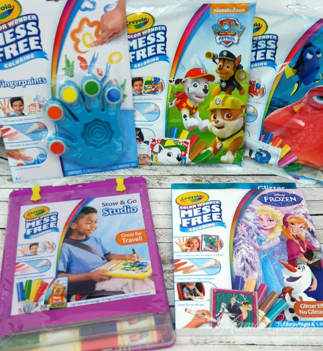 Crayola Color Wonder Products