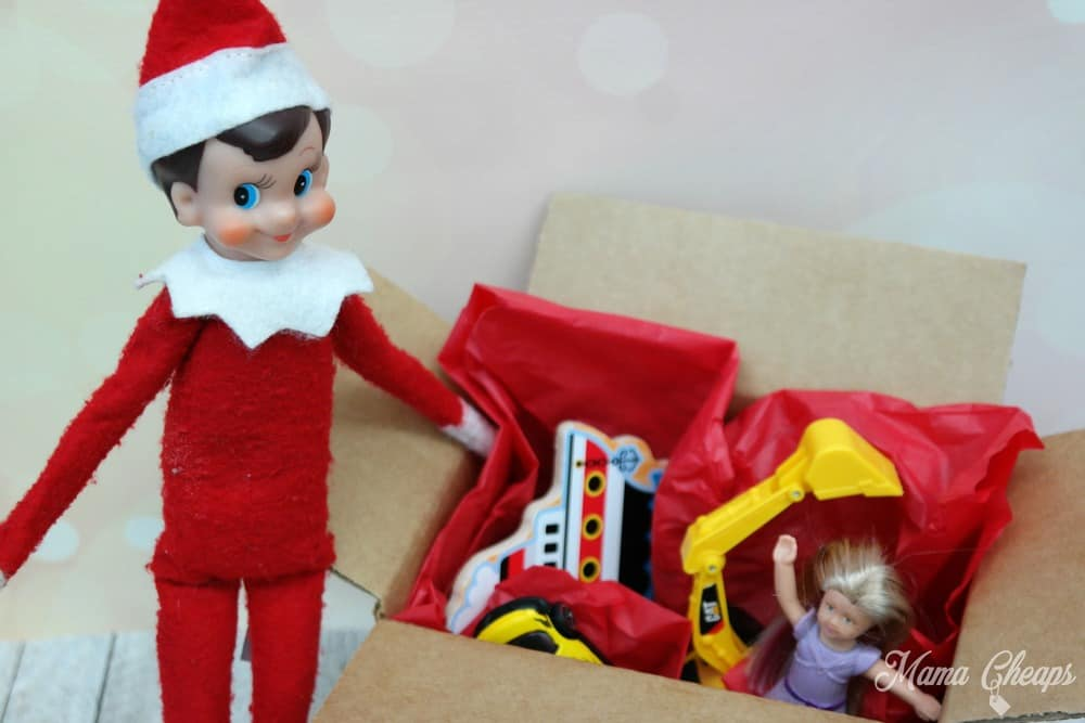 Elf with Box of Toys