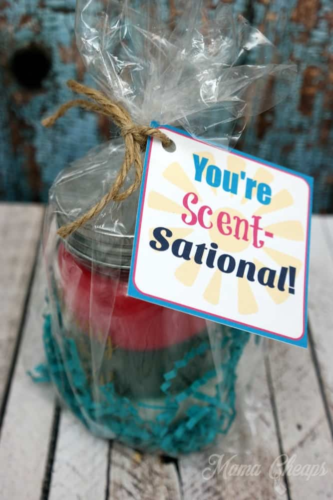 You Re Scent Sational Gift Idea Free Printable Tag