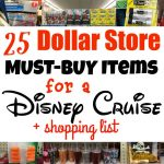 Dollar Store Disney Cruise Must Buys