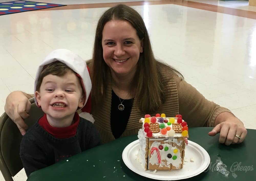 Preschool Gingerbread houses